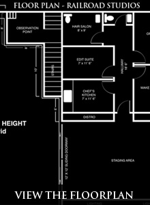 Railroad Studios - View The Floor Plan